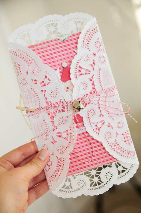 Lindo, mais uma finalidade para a   toalinha de papel