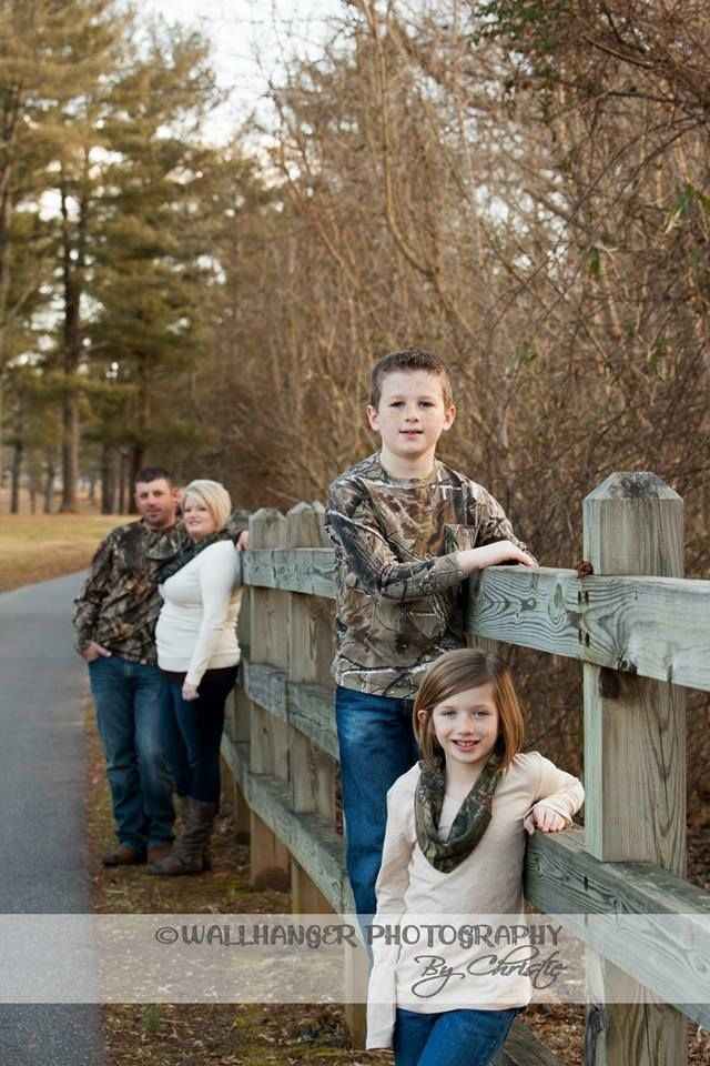 Camo family- Love the scarfs