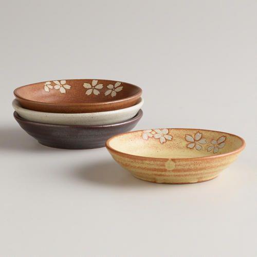 One of my favorite discoveries at WorldMarket.com: Fuji Dip Bowls, Set of 4