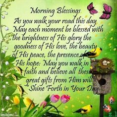 morningblessings/facebook   Morning Blessings Pictures, Photos, and Images for Facebook, Tumblr ...