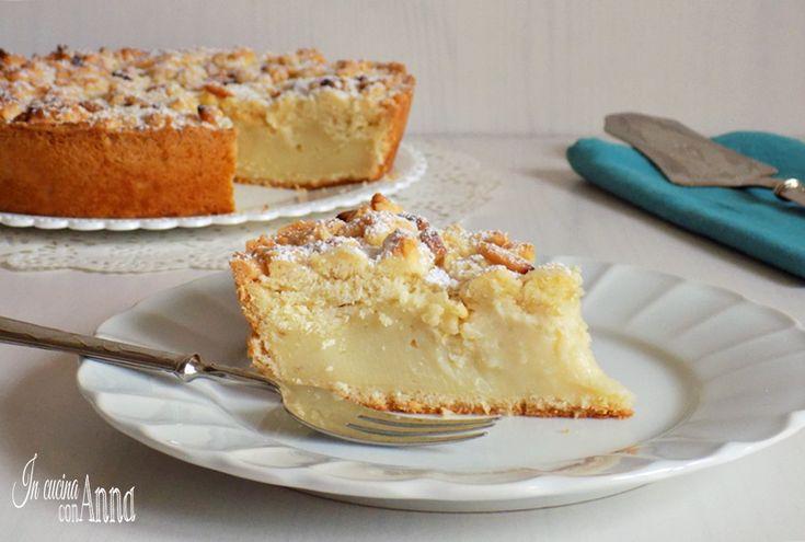 Ecco una variante della torta della nonna..la torta della nonna sbriciolosa,buonissima...