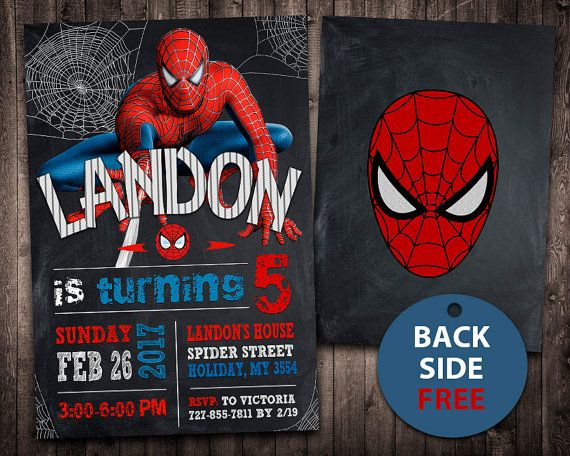 Spiderman Invitation, Spiderman Birthday Invitation, Spiderman, Spiderman Printable, Spiderman Card, Spiderman Invite Party, Digital - Visit to grab an amazing super hero shirt now on sale!