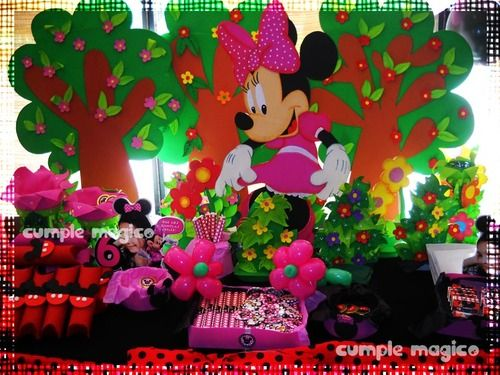 112 best images about minnie mouse party ideas on - Decoracion con globos para cumpleanos ...