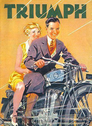 Triumph 1930's Ad