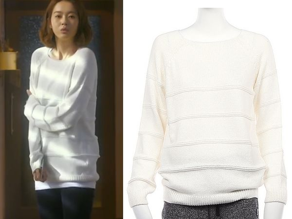 "Go Ara in ""You're All Surrounded"" Episode 9.  Siero Loose Knit Pullover  #Kdrama #YoureAllSurrounded #너희들은포위됐다 #GoAra #고아라"