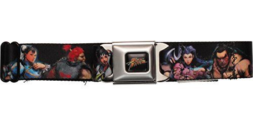 Street Fighter Series Characters Seatbelt Mesh Belt @ niftywarehouse.com #NiftyWarehouse #StreetFighter #VideoGames #Gaming