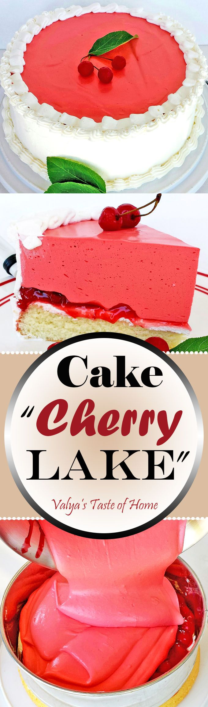 This cake is so delicious and full of flavor loaded with cherries, that even kids who are very picky eaters with dessert will love it and devour every crumb. Very easy to put together, but tastes so delicious.