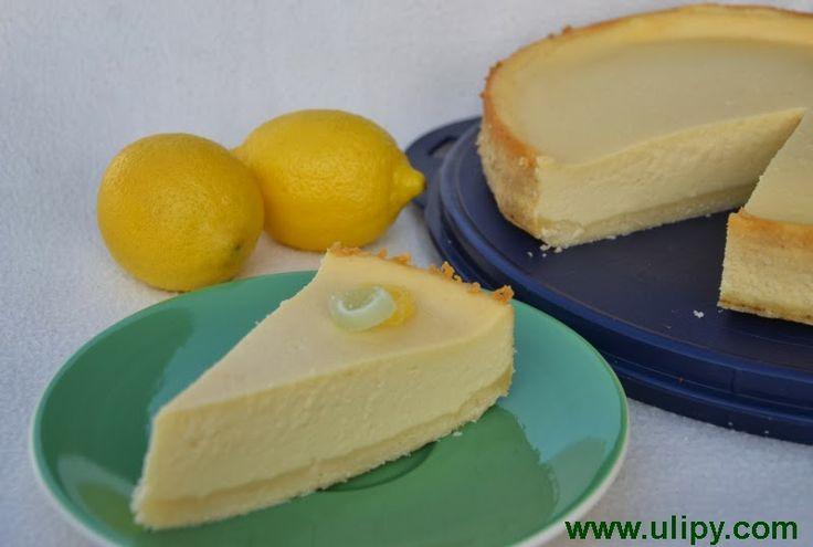Domácí jídlo U Lípy: Citronový cheesecake