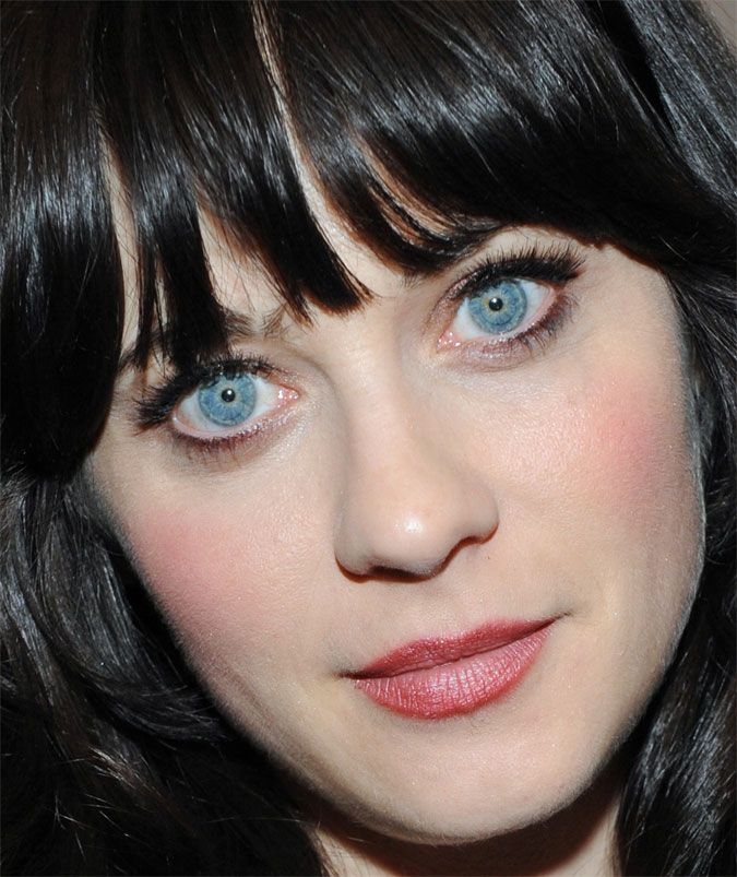 zooey deschanel eyes wwwpixsharkcom images galleries
