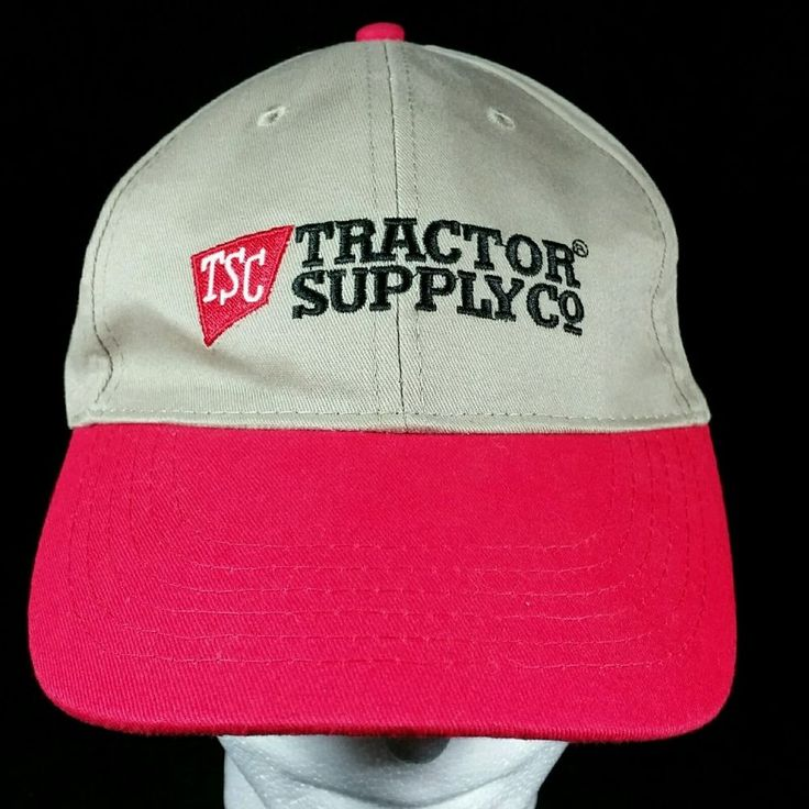 NWOT Men's Tractor Supply Company TSC Farmer Trucker Adjustable Baseball Hat Cap | Clothing, Shoes & Accessories, Men's Accessories, Hats | eBay!