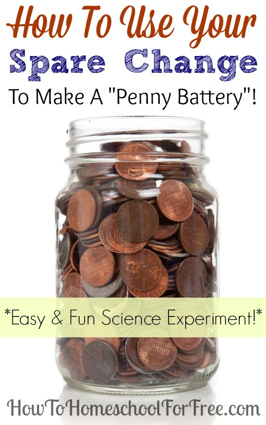 How to make a penny battery! Super fun and easy science experiment!