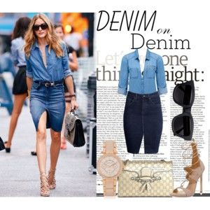 Denim On DEnim- New Trend