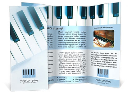 Piano Prospektus Sablon