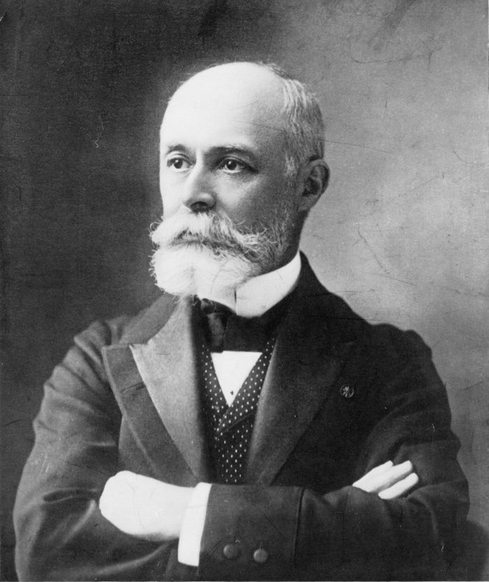 Antoine Henri Becquerel(15 December 1852 – 25 August 1908) was a Frenchphysicist,Nobel laureate, and the first person to discover evidence ofradioactivity. For work in this field he, along withMarie Skłodowska-CurieandPierre Curie,[2]received the 1903Nobel Prize in Physics. TheSI unitfor radioactivity, thebecquerel(Bq), is named after him.