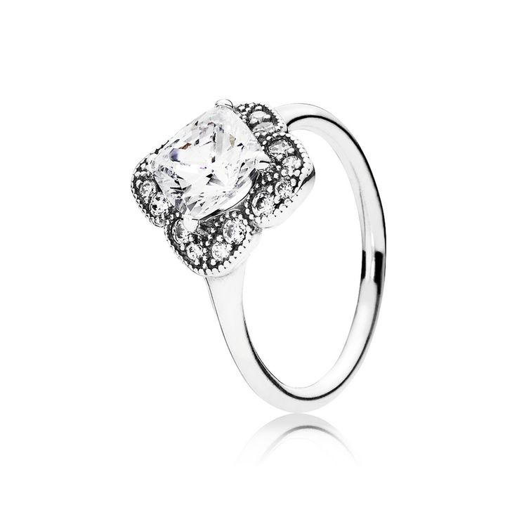 a2a92e7d8 ... 2016 New Cheap Pandora Crystalized Floral Fancy, Clear CZ Ring ...