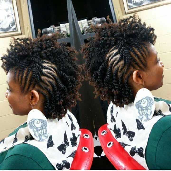 Terrific 1000 Ideas About Natural Braided Hairstyles On Pinterest Short Hairstyles For Black Women Fulllsitofus