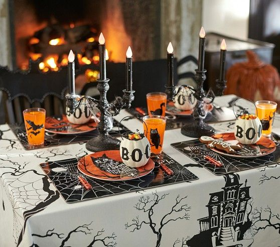189 best halloween table settings images on pinterest happy halloween halloween ideas and halloween stuff