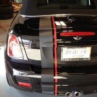 MINI Custom Carbon Fiber Stripes – 02