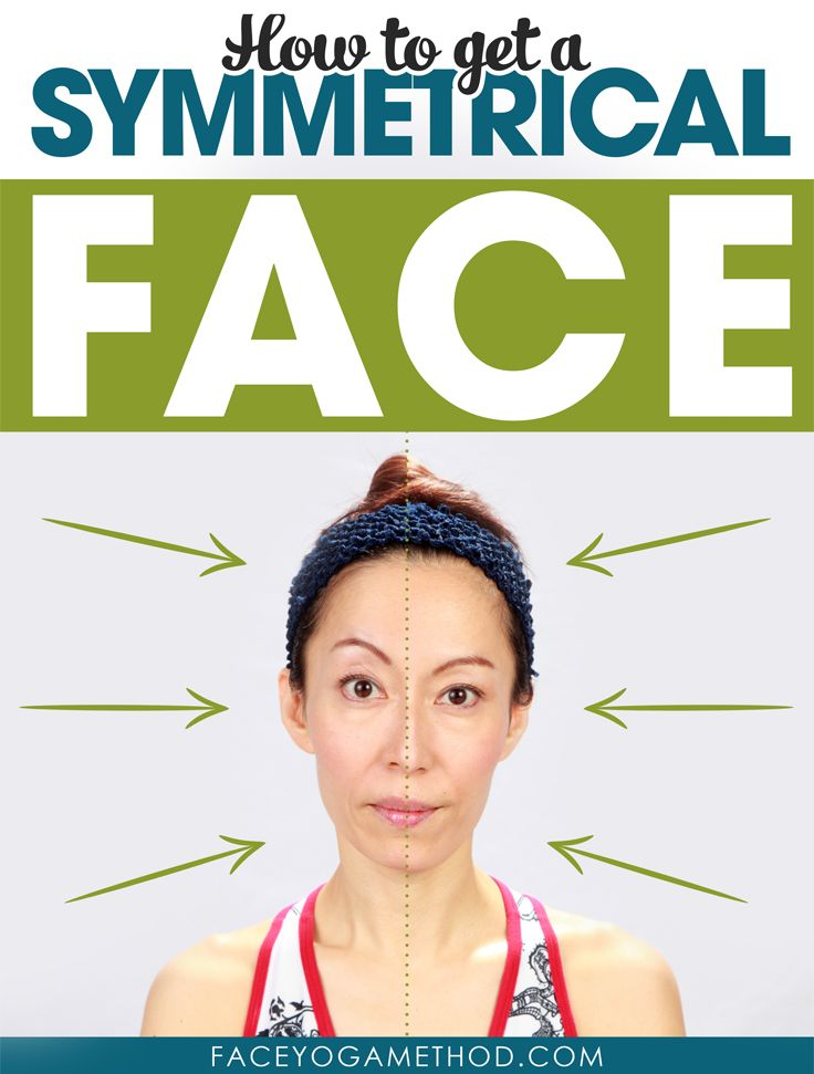 how to make your face look more symmetrical
