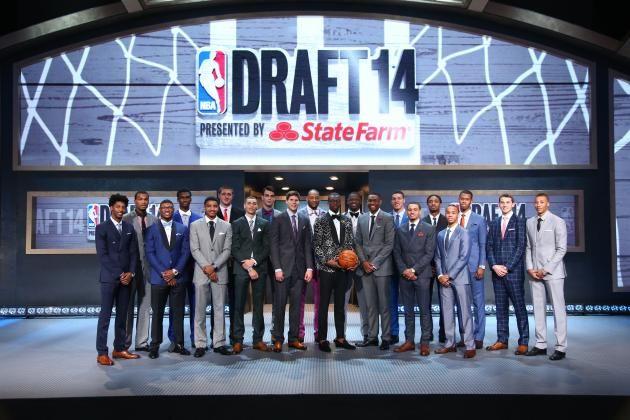 Grading the 2014 NBA Draft - http://untiedmag.com/2014-nba-draft-grades/ #2014NBADraft, #AndrewWiggins, #Basketball, #Draft, #JabariParker, #JoelEmbiid, #NBA