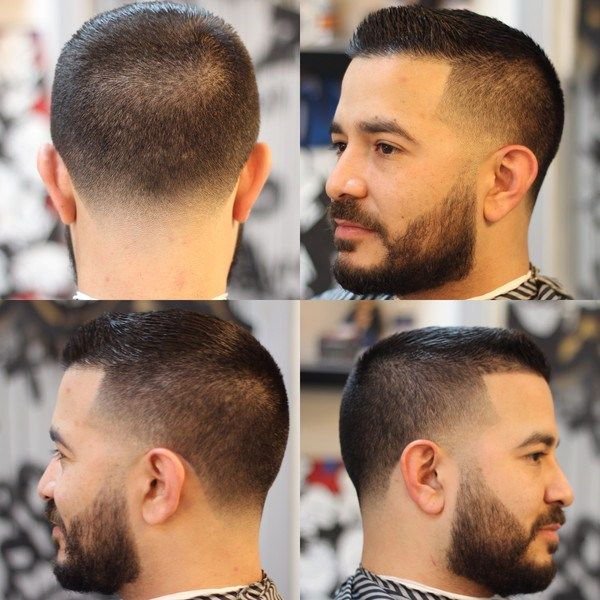 High Taper Fade blended with Beard Latest Hairstyle 2015