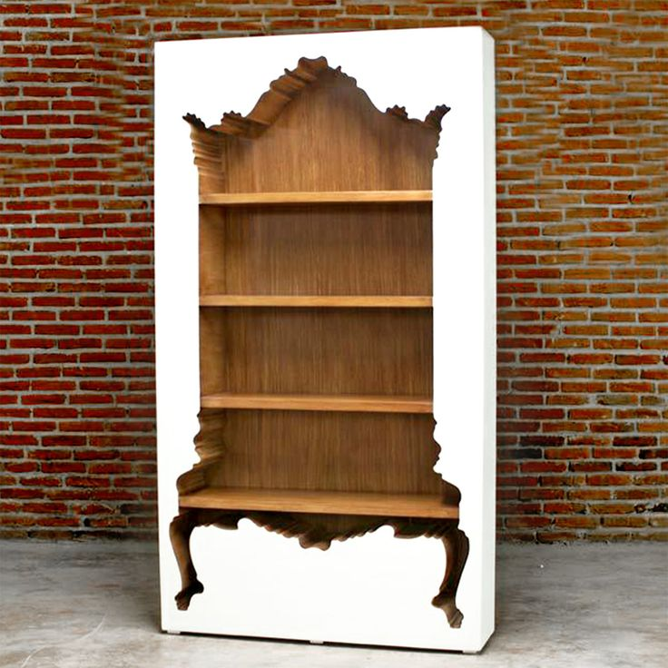 """The world needs more """"inside out"""" furniture because this is just too cool."""