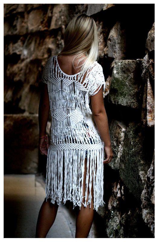 Macrame Dress.