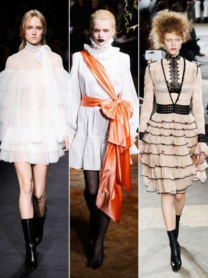 Dass Blusen alles andere als weiß, schlicht und dezent sein müssen, zeigen uns die Designer mit ihren Herbstkollektionen.