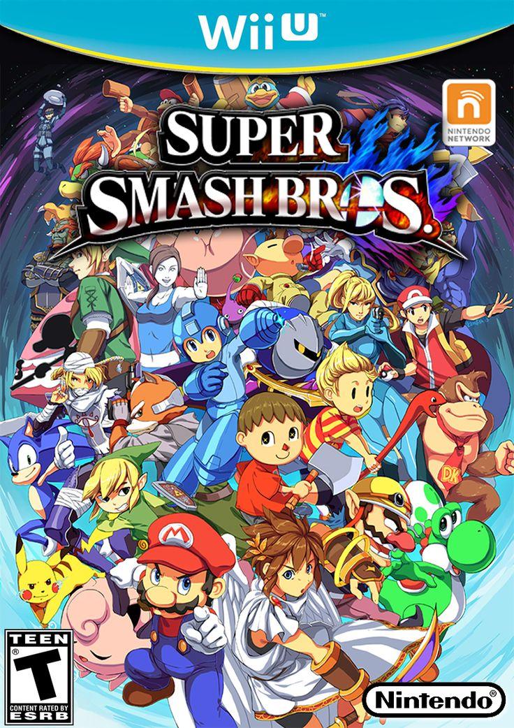 Super Smash Bros Wii U by CEObrainz.deviantart.com on @deviantART >> wow!! incredible!!