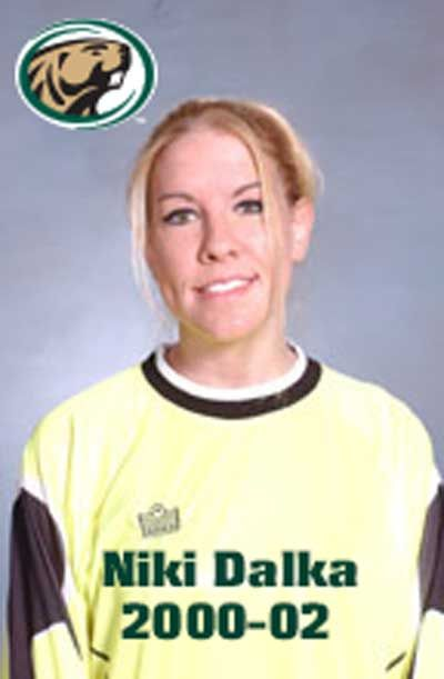 Niki Dalka recorded a BSU record 36 saves in a 4-0 L to Winona State 10/28/01. She still ranks among the top 10 all-time. #TuesdayTrivia