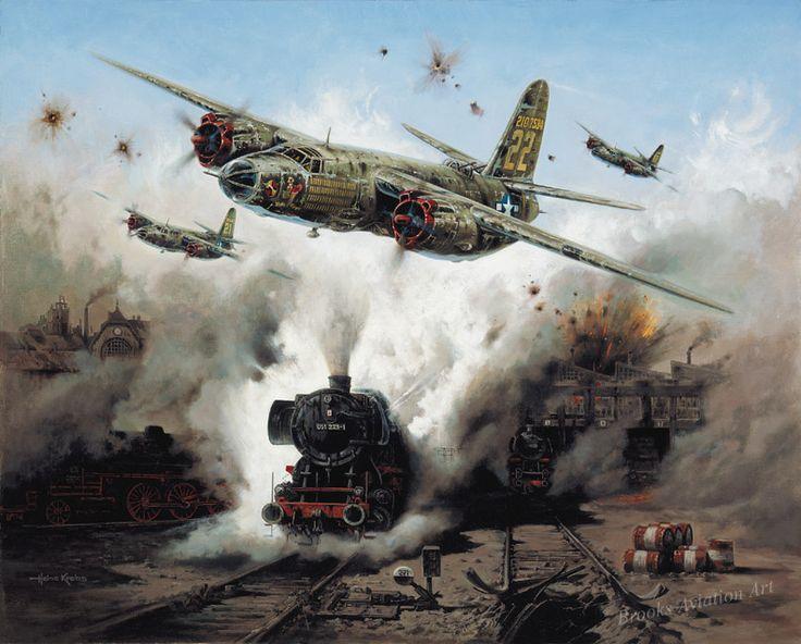 American B-26 Marauder medium bomber.