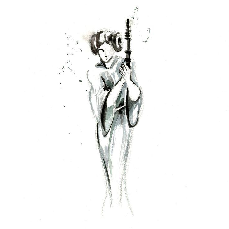 #PrincessLeia - #Leia - Blule