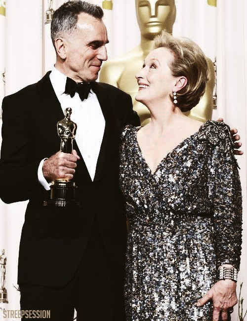 Daniel Day-Lewis and Mery Streep <3