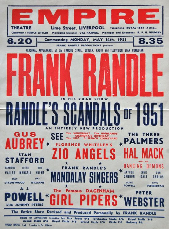 frank randle - Google Search