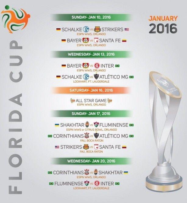 Com time de Ronaldo entre os clubes, Timão conhece tabela da Florida Cup