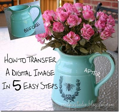 How to transfer digital images.