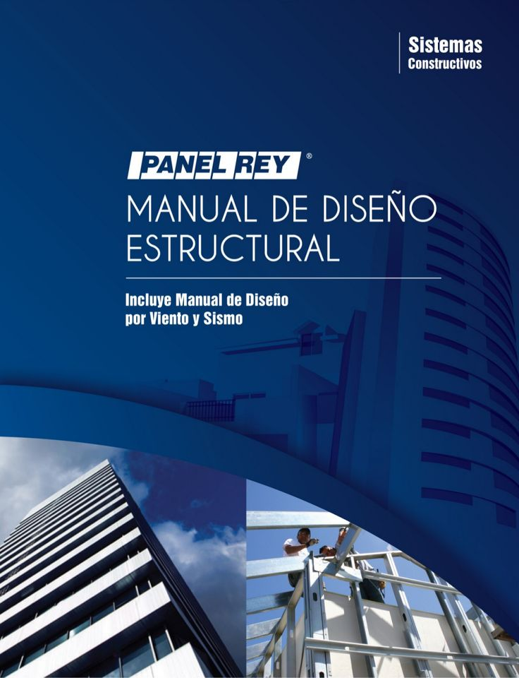 Manual De Diseno Estructural Panel Rey By Jose Bustillos