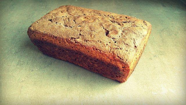 Kulinarna Schizofrenia: Chleb żytni na zakwasie