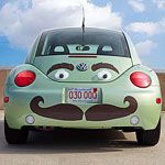 Wheel Appeal: Crafts to Customize Your Car: Put On a Happy Face (via Parents.com)