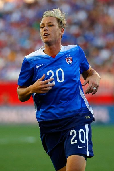 Abby Wambach vs. Sweden, June 12, 2015. (Kevin C. Cox/Getty Images North America)