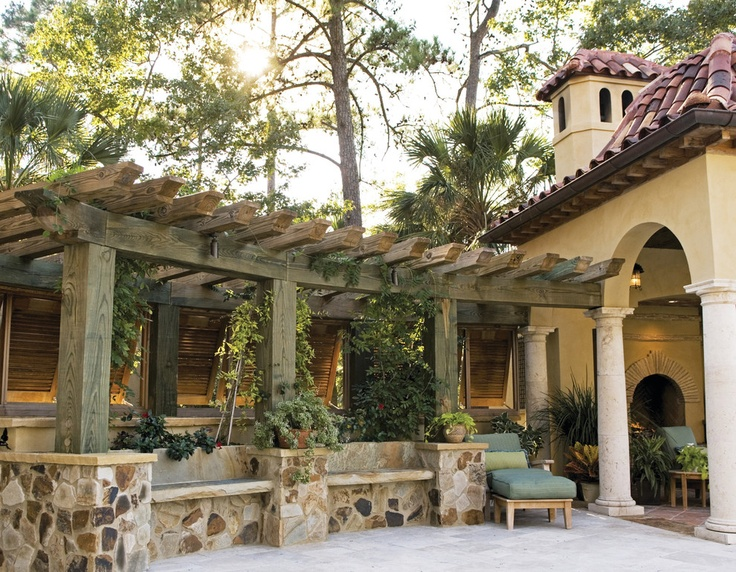 13 best images about gazebos pergolas on pinterest for Waterfront home design ideas