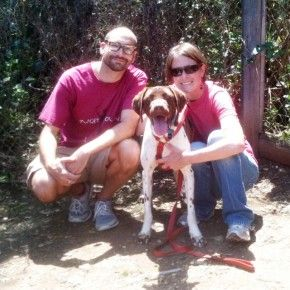 Another Happy Ending brought to you by CA GSP Rescue!  Rocket is Adopted! :)