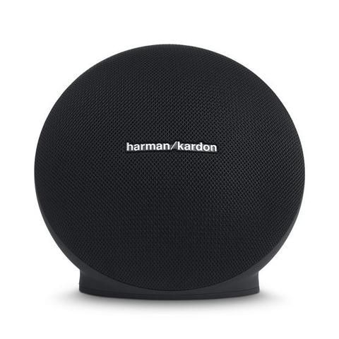 Harman Kardon Onyx Mini Portable Bluetooth Speaker Black - Front View