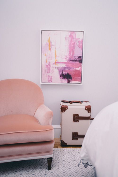 Gal Meets Glam Our Bedroom One King S Lane Painting