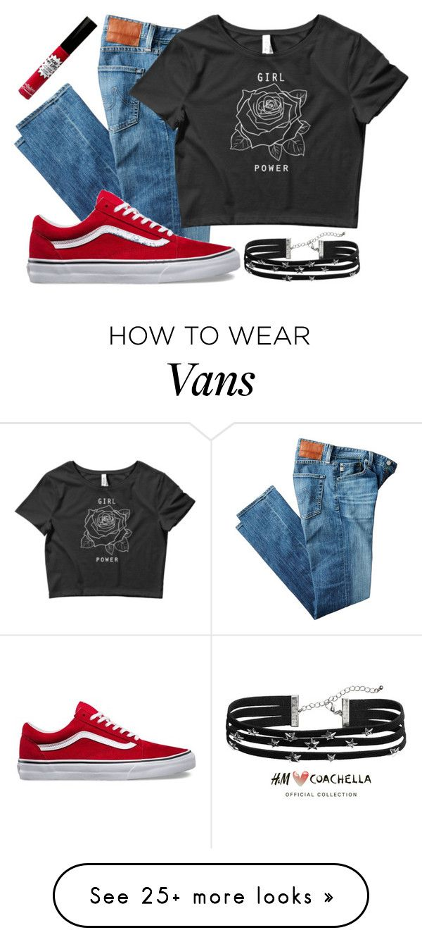 """""""Untitled #807"""" by bree-rayne on Polyvore featuring AG Adriano Goldschmied, H&M and TheBalm"""