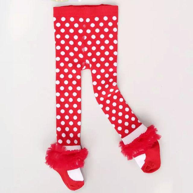 1-7 Anos Crianças Meninas Collants Crianças Meia-calça de Bolinhas Rendas de Fios Net Menina Bebe Algodão Meias Meias Infantil roupas (BT032)
