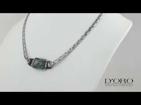 D'ORO Jewellery Biżuteria Częstochowa NASZYJNIK - YouTube