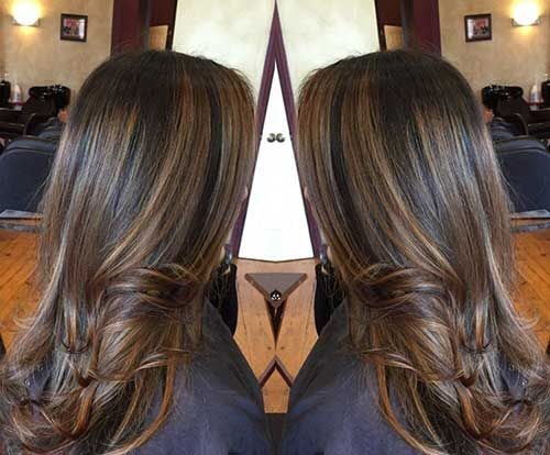 Hair Highlights Styles: 25+ Great Ideas About Dark Highlights On Pinterest