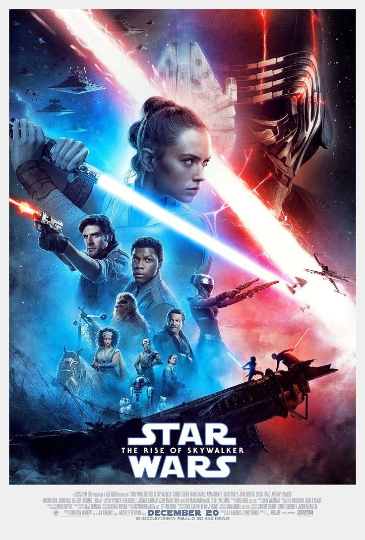 Offical poster for Star Wars: The Rise of Skywalker