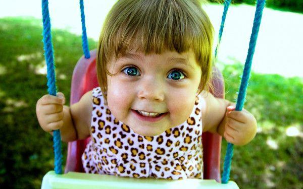 a happy kid ..
